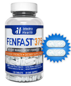 bottle of FENFAST 375