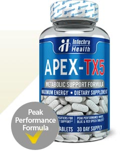 Official APEX-TX5 bottle graphic