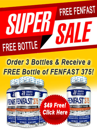 Buy three bottles of FenFast 375 and get 1 bottle free!