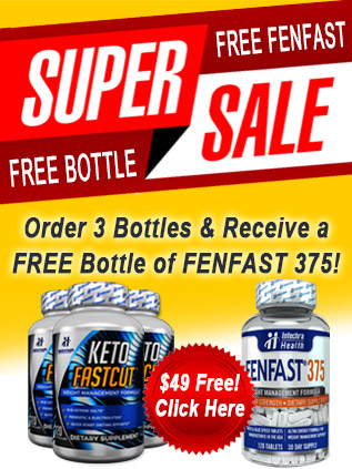 Buy KETO FASTBURN and get 1 free bottle of FENFAST!